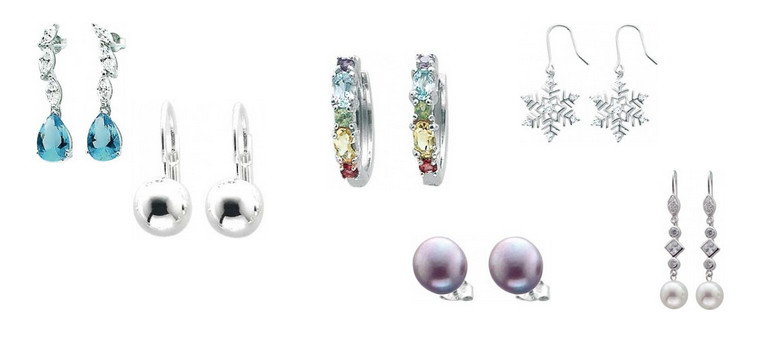 Ohrringe Silber