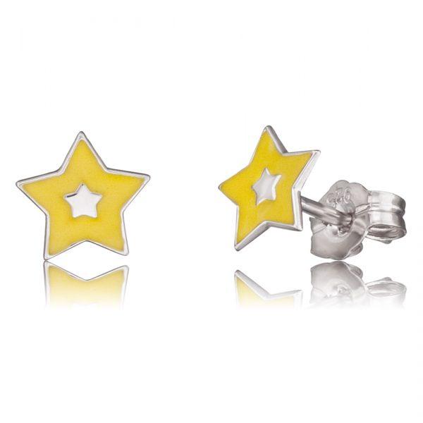 Ohrringe – Herzengel HEE-03SHINE Ohrstecker Silber Sterlingsilber 925/-