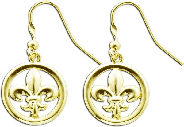 Ohrringe –  Ohrhänger Silber Ster...