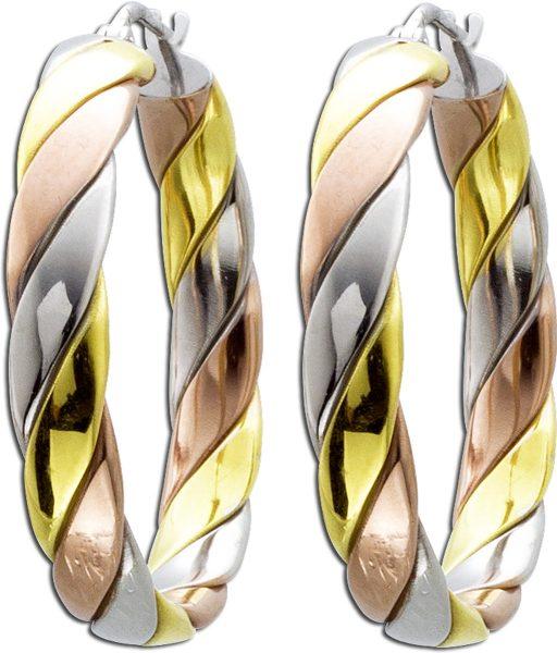 Ohrringe – Creolen Silber Sterling...