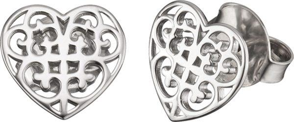 Ohrringe – Engelsrufer ERE-ORNAHEART-ST Ohrstecker Herz Silber Sterlingsilber rhodiniert