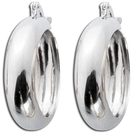 Creolen Silber Ohrringe Sterling Silber ...