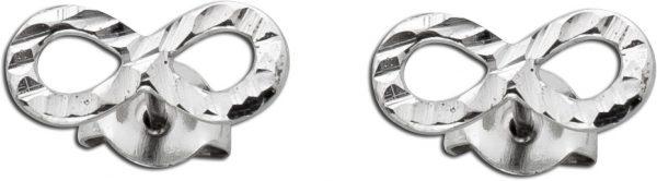 Ohrstecker Unendlichkeitszeichen Infinity Silberohrringe Silber 925