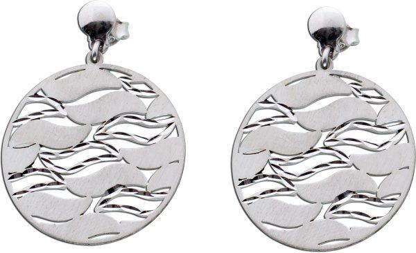 Ohrringe rund Silber 925 Ohrstecker Ohrhänger