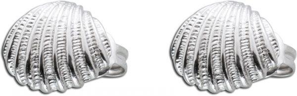 Ohrringe Muschel Silber 925 Ohrstecker H...