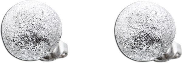 Kugelohrstecker Silber 925 Ohrringe Kugel Ohrstecker diamantiert