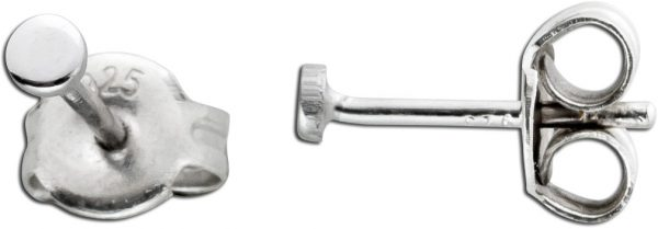 Kugel Ohrstecker Ohrringe Silber 925 Ohr...