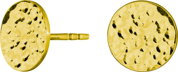 Nordahl Joanli Nor Ohrstecker 325 674-3 Two-sided52 Silber 925 Vergoldet 10mm Durchmesser