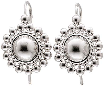 Ohrringe – Glamouröse Silberohrh�...
