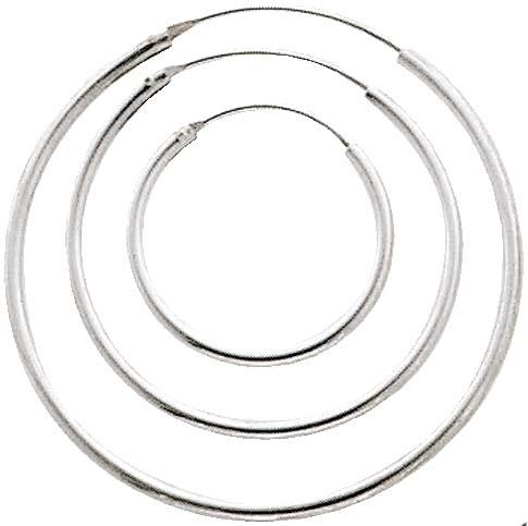 Ohrringe – Creolenset 3 Paar aus e...